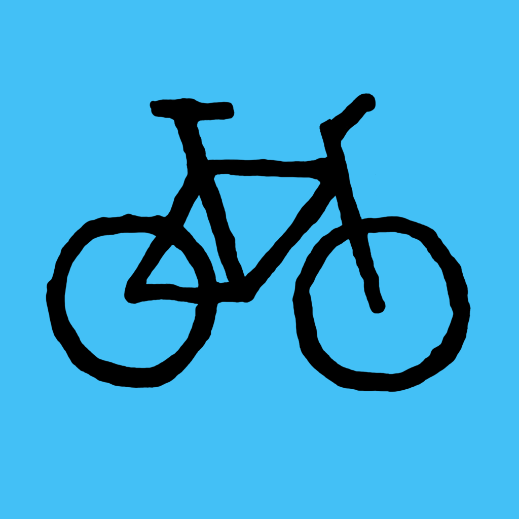 Bicycle-blue-black